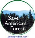B308 - Save America's Forests - Button