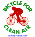 B310 - Bicycle For Clean Air - Button