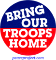 B315 - Bring Our Troops Home - Button
