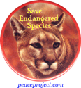 B342 - Save Endangered Species - Button