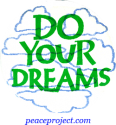 B436 - Do Your Dreams - Button