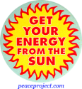 B449 - Get Your Energy From The Sun - Button