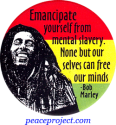 B455 - Emancipate Yourself From Mental Slavery... - Button