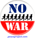 B0585 - No War - Button
