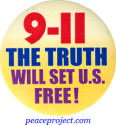 B760 - 9/11 The Truth Will Set Us Free - Button
