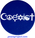 Coexist - Button