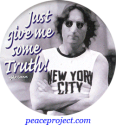 Just Give Me Some Truth - John Lennon - Button
