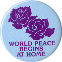 MG036 - World Peace Begins At Home - Magnet
