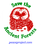 B243 - Save The Ancient Forests - Button