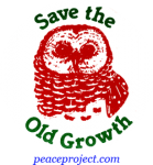 B244 - Save The Old Growth - Button