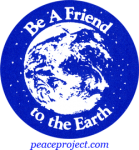 B299 - Be A Friend To The Earth - Button