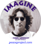 B866 - Imagine - John Lennon - Button