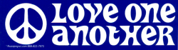 MS134 - Love One Another - Mini-Sticker
