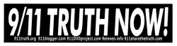 MS083 - 911 Truth Now! - Mini-Sticker