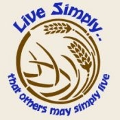 Live Simply That Others May Simply Live (On Natural) - T-Shirt
