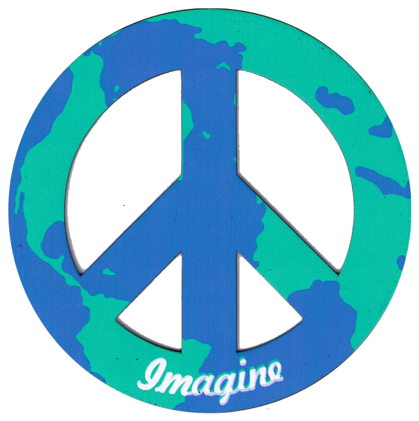 Magnetic Peace Symbols • Flexible Peace Sign Magnets | Peace ...: peaceproject.com/magnets/vehicle