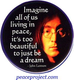 Imagine All Of Us Living In Peace Its Too Beautiful To Just Be A Dream