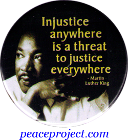 answer the question being asked about injustice anywhere is a writing dates in essays why is it important for a thesis