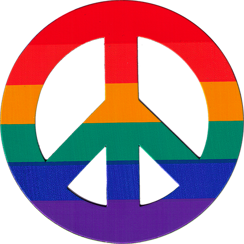 Magnetic Peace Symbols Flexible Peace Sign Magnets