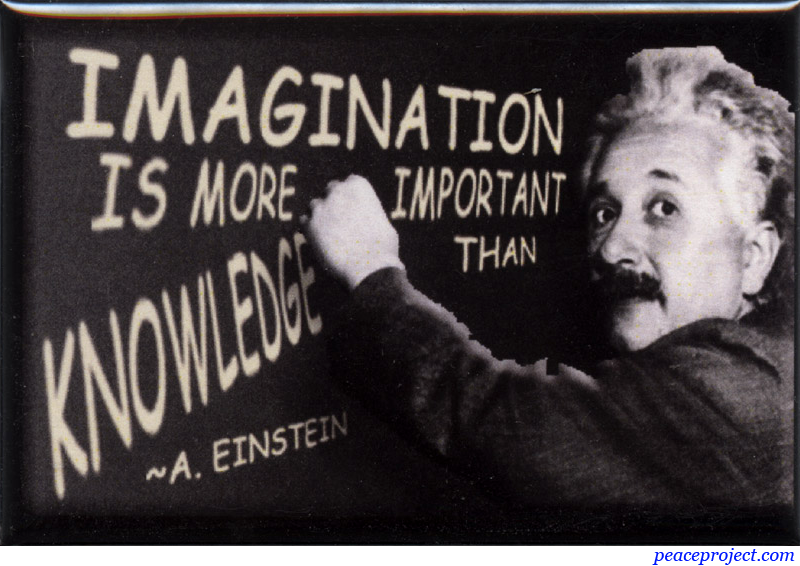 """imagination is more important than knowledge To say that imagination is more important that knowledge is equivalent to say that raw material is more important than finished product both are important and both have their own."