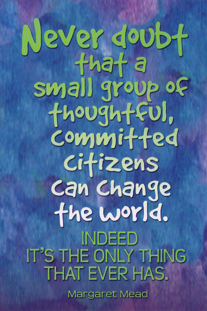 Social Change Quotes Postcards  Share Inspiring Quotes And Messages Of Positive