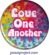B469 - Love One Another - Button