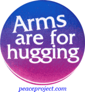 B0006 - Arms Are For Hugging - Button