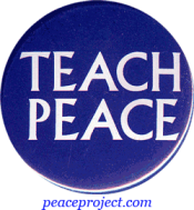 B037 - Teach Peace - Button