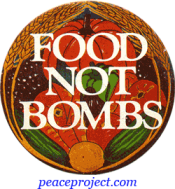 Food Not Bombs - Button