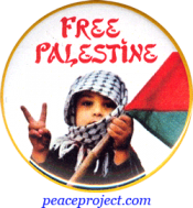 Free Palestine - Button