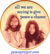 All We Are Saying...- John Lennon And Yoko Ono - Button