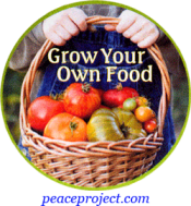 "Grow Your Own Food - Button / Pinback (1.75"")"