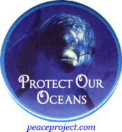 Protect Our Oceans - Button