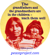 The Grandfathers And The Grandmothers Are... - Button