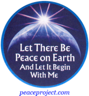 Let There Be Peace On Earth And Let It Begin With Me - Button