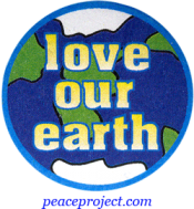 Love Our Earth - Button