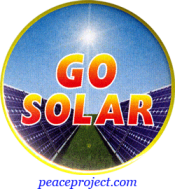 Go Solar - Button