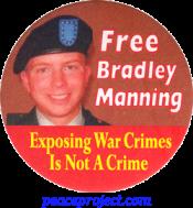 Free Bradley Manning - Button