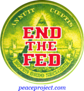 End The Fed - Button