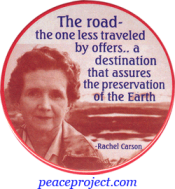 The Road, The One  Less Traveled By Offers... - Rachel Carson