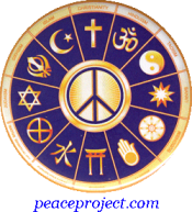 "Interfaith Peace - Button / Pinback (2.25"")"