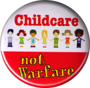 B1192 Childcare not Warfare