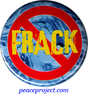 No Frack - Button
