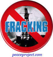 No Fracking - Button