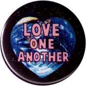B1211 - Love One Another - Button