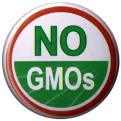 "NO GMOs - Button / Pinback (1.25"")"