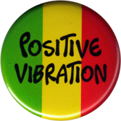 Positive Vibration - Button
