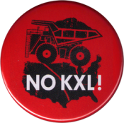 NO KXL - Button