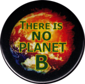 "There is No Planet B - Button (1.75"")"