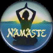 Namaste - Button